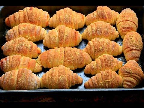 Slane kiflice od kukuruznog brašna