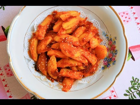 Pečeni krompir sa majonezom i palentom / Mekan i sočan i sutradan 😘🍟