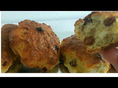 Pogačice sa grižđicama – slatke pogačice – Recept