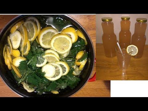 Prirodni sok/sirup od koprive bez limuntosa i konzervansa