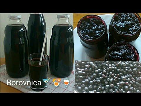 Borovnica, sok i džem bez limuntosa i konzervansa, provjeren recept za zimu- video 1