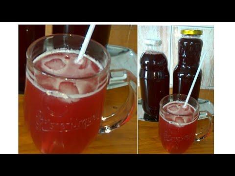 Sok/sirup od višnje bez limuntosa i konzervansa – Video recept