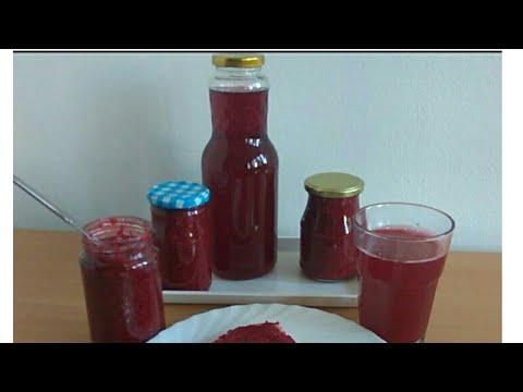 Sok od malina i džem – čisti sok bez dodataka, bez vode – Recept