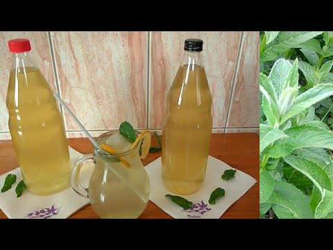 Sok / sirup od metvice sa limunom, bez konzervansa i limuntosa