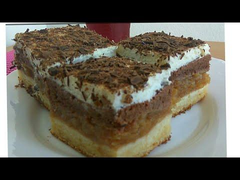Kolač sa jabukama – Lenja pita – Apple cake 👌