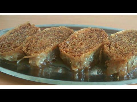 Ružice sa orasima – Bajramska, tradicionalni zaljeveni kolač – Baklava