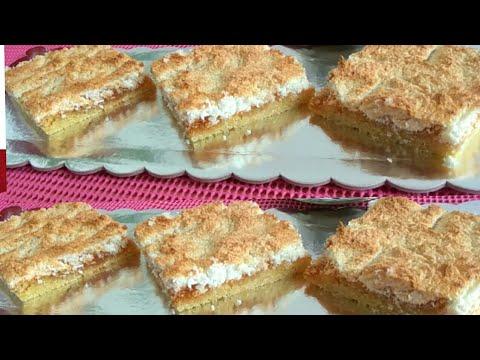 Francuski kolač sa kokosom, jednostavana priprema za 10 minuta