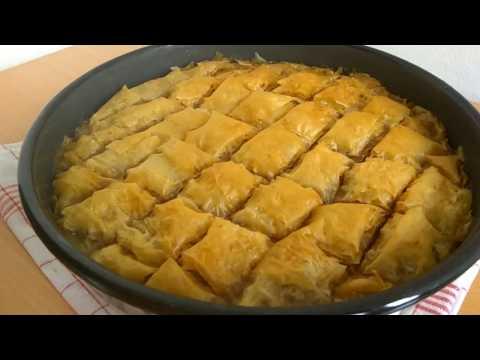 Pita sa orasima od gotovih kora – BAKLAVA – mnogo dobar recept