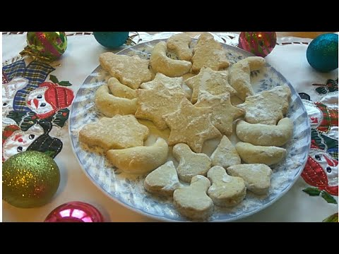 BAKINE VANILICE – Christmas cookies – Video recept