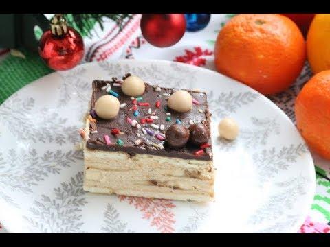 Bakina kuhinja – posna karamel torta