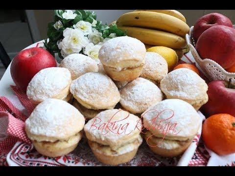 Bakina kuhinja – mafini lenja pita sa jabukama bananama i čokoladom
