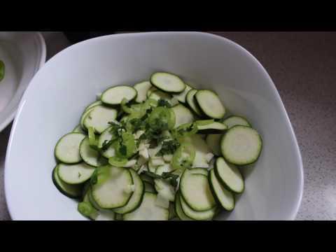 Najjednostavnija ljetna salata sa tikvicom