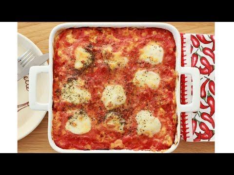 ZAPEČENE MAKARONE – makarone na italijanski način – PICA MAKARONE