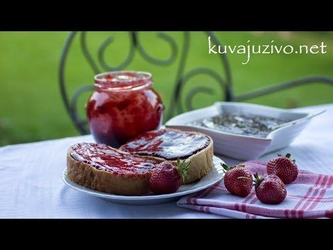 Dzem /Marmelada od jagoda – Video recept