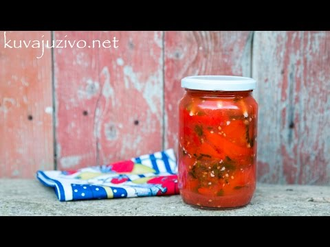 Barena paprika u paradajz sosu bez konzervansa – Zimnica